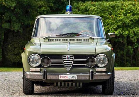squadra volante polizia 1966 alfa romeo giulia polizia squadra volante