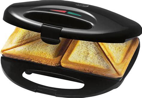 st maker bomann luxus sandwich maker sandwichtoaster st 520 schwarz