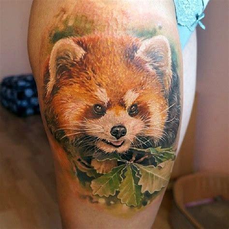 red panda tattoo tumblr red panda tattoo by pashkov tattoo x tattoo pinterest