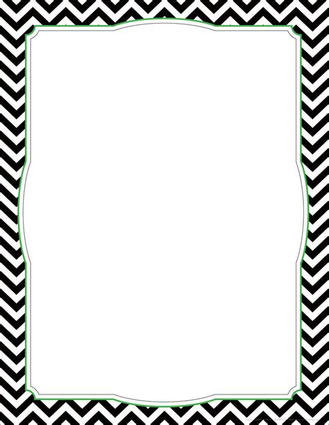 free chevron border template for word free chevron page border search primary