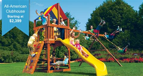 Models Pricing Rainbow Play Systems Swing Sets And