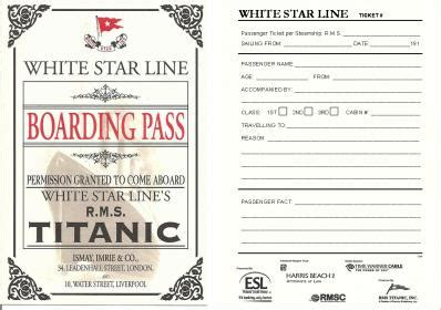 printable titanic boarding pass template titanic boarding pass ticket encyclopedia titanica