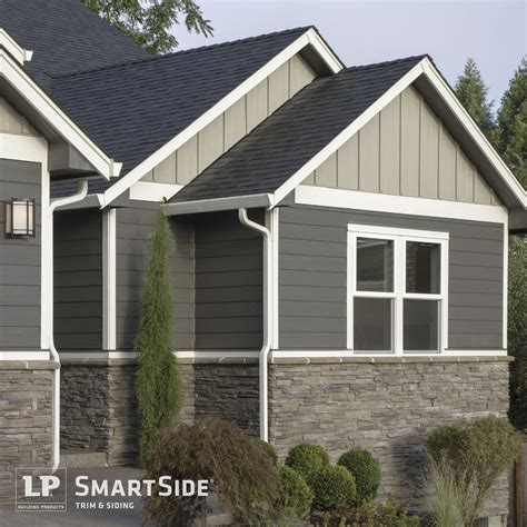 Vinyl Siding Design Ideas Dark Blue Grey Vinyl Siding On A