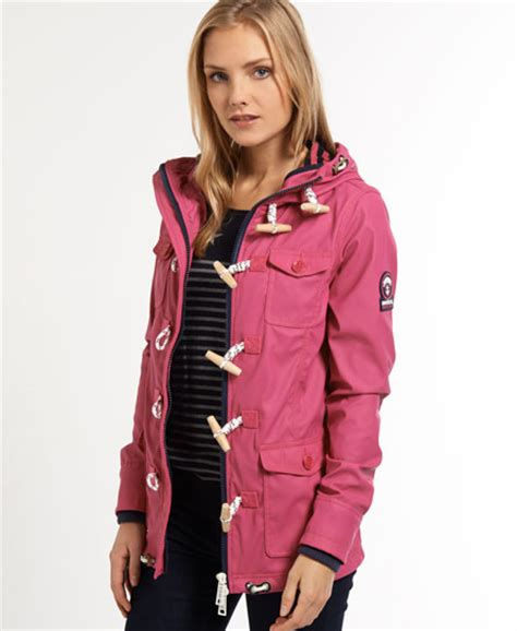 superdry boat jacket womens duffle coats shop duffle coats online superdry