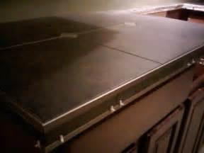 porcelain tile countertop schluter edge profiles epoxy
