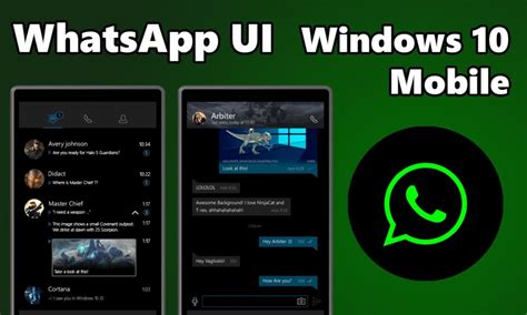 free whatsapp for mobile whatsapp update available with new features for windows 10