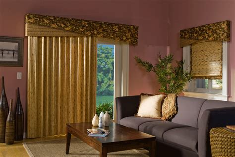 Window Valance For Sliding Door That Will Present Window Treatments For Sliding Glass Doors In Living Room