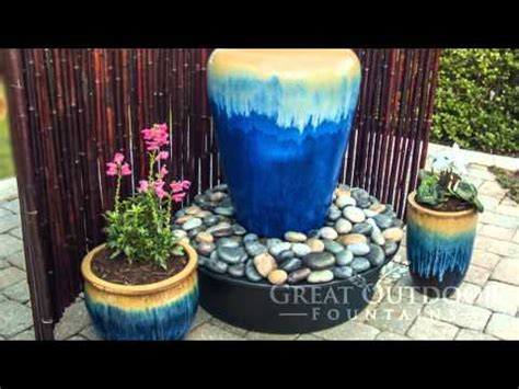bubbler fountains  great outdoor fountains youtube