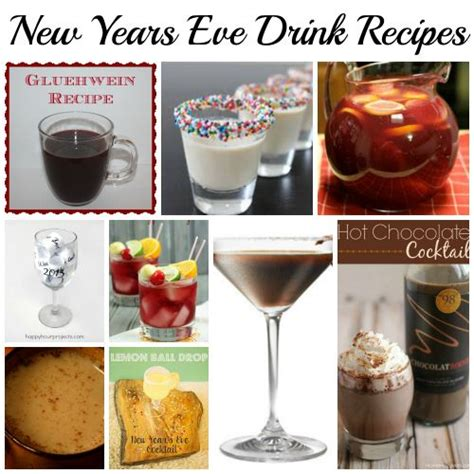 new years recipes new years drink recipes mocktails