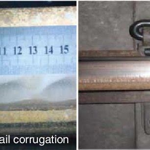 short pitch rail corrugation and fatigue fracture of rail