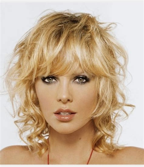 hairstyles for fine curly hair with bangs 15 flattering short hairstyles for fine hair with bangs