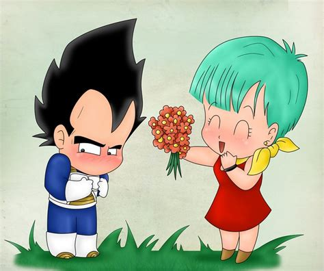 imagenes romanticas de dragon ball z imagenes de vegeta y bulma besandose fotos de dragon ball