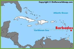Barbados On World Map by Where Can I Buy A Map Of Barbados