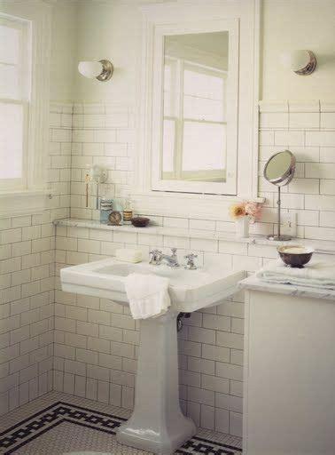 vintage subway tile bathroom 1000 images about cottage bathroom ideas on pinterest