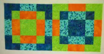 Free quilt patterns and tutorials disappearing 9 patch 16 patch