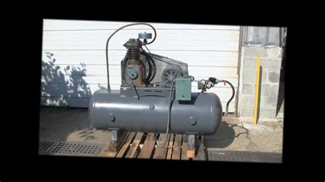 curtis used electric air compressor 5 hp akron ohio