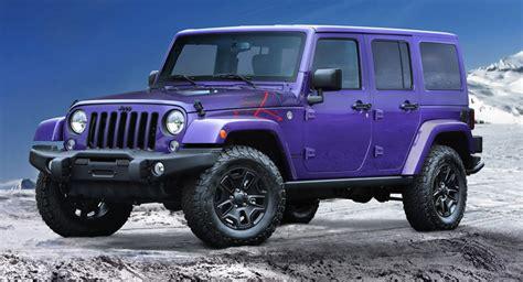 Jeep La 2016 Jeep Wrangler Backcountry Goes Plum For La Show