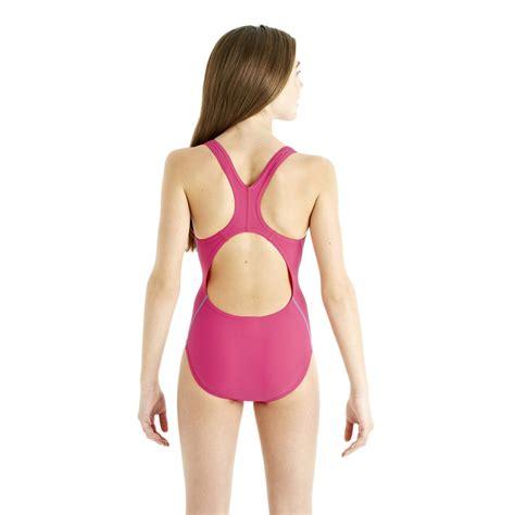 speedo girl swimsuit speedo spiralize splashback girls swimsuit sweatband com