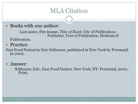 mla letter to author format mla citation website no author