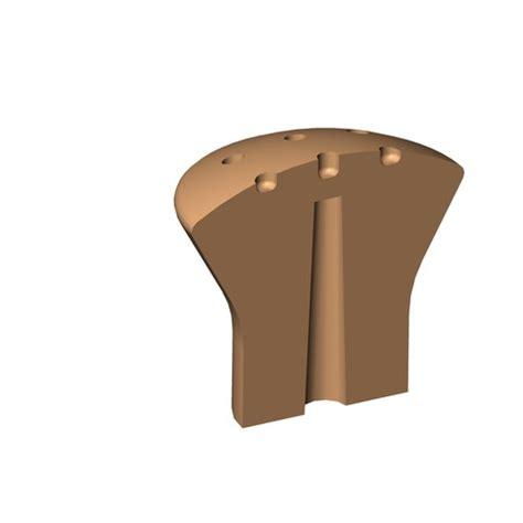 Poignee Tiroir Commode by Fichier 3d Poign 233 E Bouton Commode Armoire Sdb Bricolage