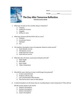 the day after tomorrow reflection by amanda phillips