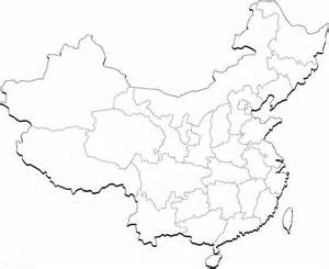 Ancient China Blank Map by China Country Outline Coloring Pages Coloring Pages