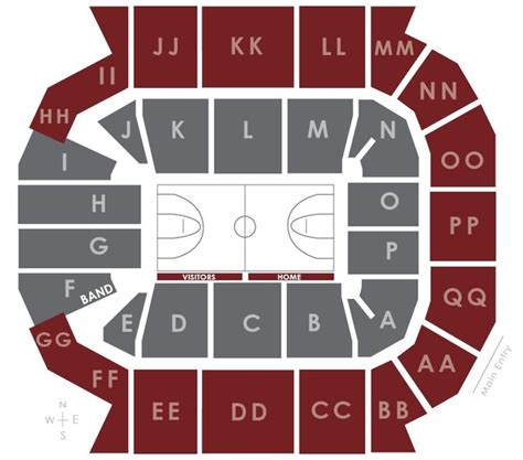 seating charts jqh arena missouri state