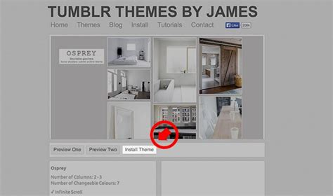 Install Themes By James | themes by james