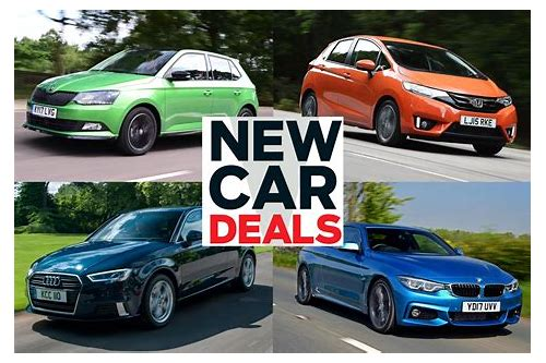 car deals which