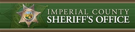 Imperial County Records Imperial County Sheriffs S Office