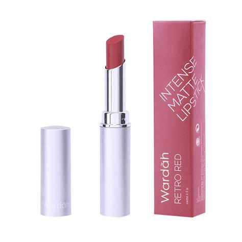 Lipstik Intens Wardah jual wardah matte lipstick 08 retro