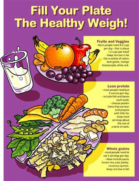 healthy fats for 10 month healthy plate poster 16 15 nutrition education store