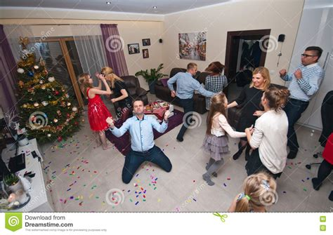 new house party house party on new year s eve stock photo image 74978009