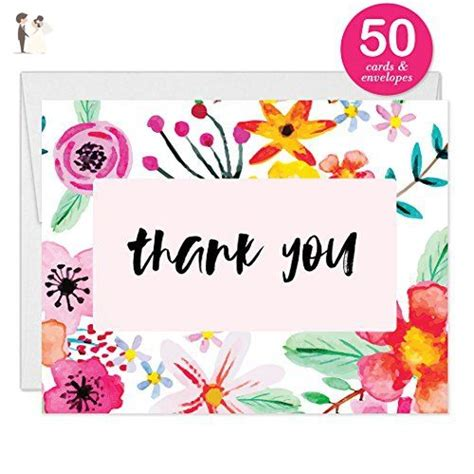 Thank You Cards Pack Of 50