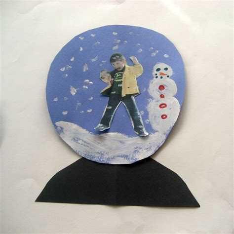 crafts snow globes snow globe craft for