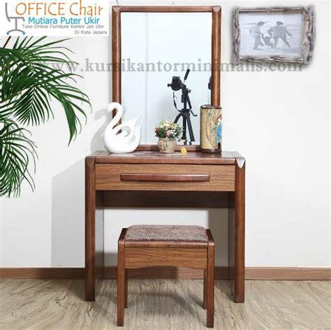 Set Meja Rias set meja rias minimalis modern jual furniture kursi kantor kayu jati jual kursi kantor putar