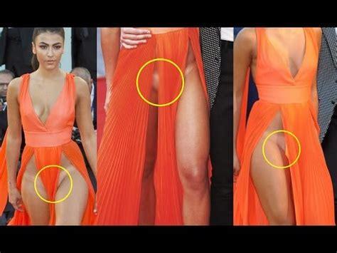 giulia salemi shocking wardrobe malfunction