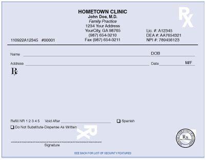 blank prescription template prescription pad sle www pixshark images