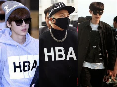 Baju Hba Exo inilah 5 brand fashion yang tengah digandrungi para idola k pop pria