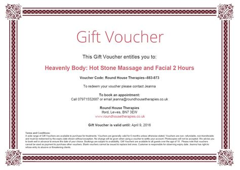 template of voucher printable restaurant gift vouchers uk gift ftempo