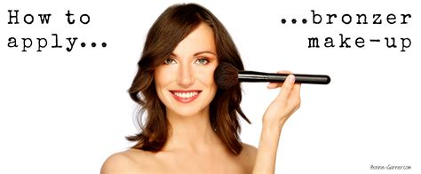 Hdtv Applied To Make Up by How To Apply Bronzer Make Up Bonnie Garner Skincare
