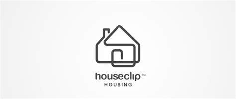 home and design logo 30 simple yet creative paper clip logo designs naldz