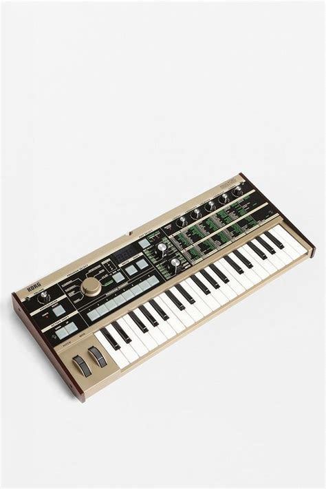 Keyboard Korg Synth keyboard and on