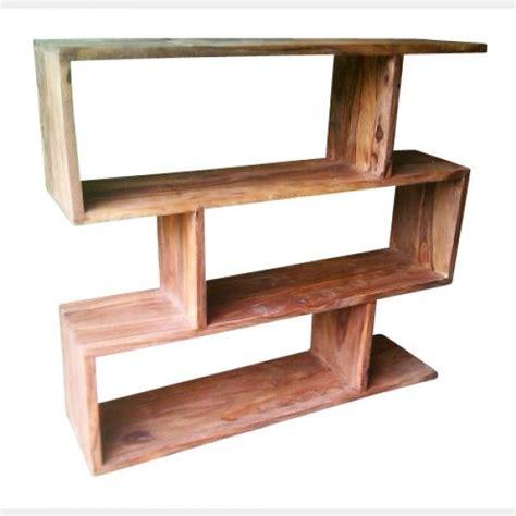 wooden bookcase modern scandinavian style loft