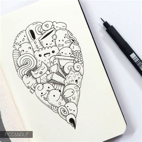 easy pen doodles imagen relacionada kawaii dibujo dibujar