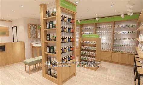 natural health store interior design