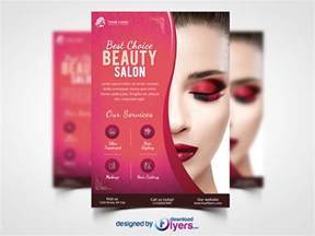 salon flyer template free psd psd