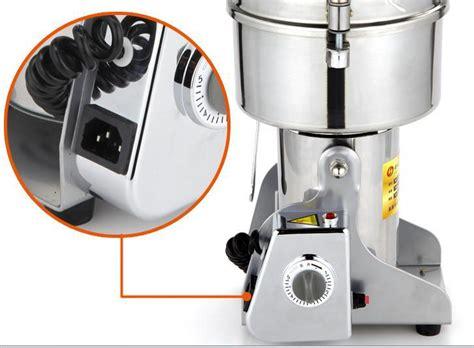 swing grinder machine new 1000g swing full stainless steel herb grinder food