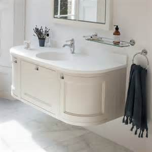 Curved Bathroom Furniture Burlington Wall Hung Curved Units Shivers Bathrooms Showers Suites Baths Northern Ireland