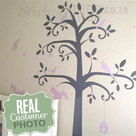 baby nursery wall stickers tree baby nursery tree wall sticker can add shelves